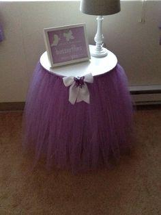 Adorable TuTu Table Skirt Baby Shower Decor by QVTuTuDecorandMore, $75.00
