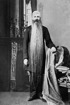 Vintage photo. - tears are rolling down my cheeks from laughing!  The first thing I thought when I saw this was :  Duck Dynasty!  Lol!  Maybe ZZ TOP Ancestor ?!!!  Haha!
