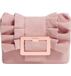 119095003841e5 Main Image - Ted Baker London Nerinee Bow Buckle Clutch