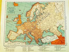 Original vintage map of the far east the colliers world atlas and colliers world atlas and gazetteer 1944 map of europe the colliers world atlas and gazetteer atlas 1942 gumiabroncs Choice Image