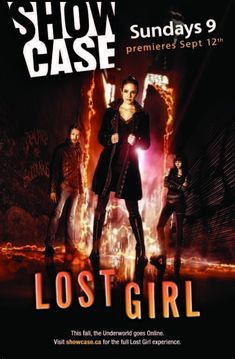 Created by M.A. Lovretta.  With Anna Silk, Kris Holden-Ried, Ksenia Solo, Richard Howland. Lost Girl focuses on the gorgeous and charismatic Bo, a supernatural being called a succubus who feeds on the energy of humans, sometimes with fatal results. Refusing to embrace her supernatural clan system and its rigid hierarchy, Bo is a renegade who takes up the fight for the underdog while searching for the truth about her own mysterious origins.