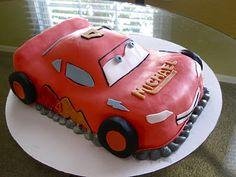 Lightning McQueen/ Cars Birthday Cake!