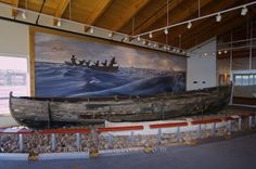 Historic Whaling Boat Red Bay National Historic Site Labrador