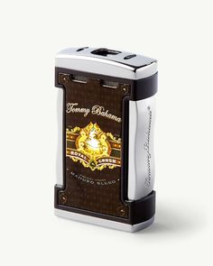 This durable and compact lighter with our original Cigar Band artwork lets you light up anywhere with ease. Best Torch, Cigar Lighters, Cigar Band, Torch Light, Led Flashlight, Cigars, Light Up, Tommy Bahama, Bite Size