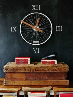 DIY Bicycle Wheel Clock