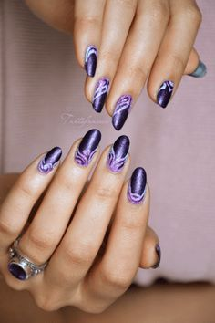 Naviguez via le menu ci-dessus Nail Tip Designs, Purple Nail Designs, Classy Nail Designs, Fall Nail Art Designs, French Nail Designs, Short Nail Designs, Acrylic Nail Designs, Purple Nail Art, Pretty Nail Art