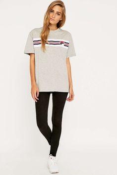 Fila - T-shirt Cameron rayé