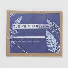 Sun Printing Kit, Cotton in House+Home DESK+CRAFT Crafts+Games at Terrain