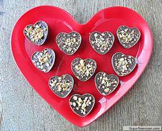 Valentine Peanut Butter Cups {Gluten Free, Dairy Free & Diabetic Friendly}