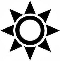 Image result for sun tattoo circle triangle