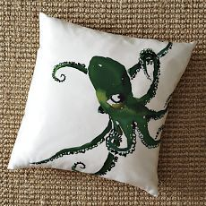 beautiful silk pillow...someday with no kids in the house...