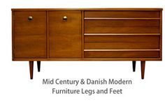 EXCELLENT SITE TO BUY MID-CENTURY FURNITURE LEGS AND FEET, MAKE OR UPDATE FURNITURE