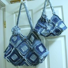 Blue Jean pursesn