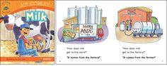 Milk—by Joy Cowley Series: Joy Cowley Early Birds GR Level: F Genre: Narrative, Fiction
