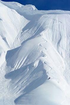 Heli skiing in Alaska