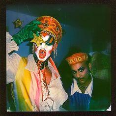 Rg @emilyroseengland ⭐️ @waj.hg Leigh Bowery, Tunnel Of Love, Kids Makeup, Circus Clown, Club Kids, Book Projects, Post Punk, Weird World, Photography Projects