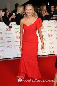 F f red dress katie