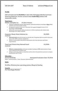sample resume welder 630 234 2207 shane d roberts sdroberts99gmail. Resume Example. Resume CV Cover Letter