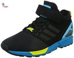 e4485a7ecef7e Adidas - ZX Flux Nps Mid - Couleur  Bleu-Jaune-Noir - Pointure  42.0  Amazon .fr  Chaussures et Sacs