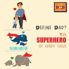 So how do you define your #DAD?  Tell us by filling the #postcard and we shall share it with your #DAD : http://shopforw.com/fathersday/