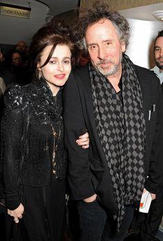 Helena Bohnam Carter couple