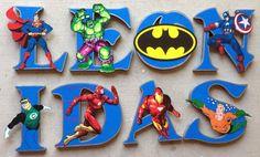 Jacobs room - https://www.etsy.com/listing/220325954/super-hero-wooden-letters