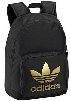 Adidas backpack. Small & compact but surprisingly fits alot. Looks good, great for travel.