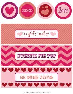 FREE Valentine's Day Printables @kristin b