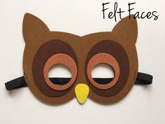 Owl Party Masks, Owl Party Favors, Owl Party Decorations