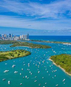 Miami Skyline, Easy Jet, Miami City, Miami Florida, Miami Beach, Solo Travel, Night Life, Places To Travel, Tourism