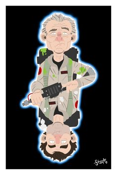 Venkmans of Futures Past - Ghostbusters - James Stayte
