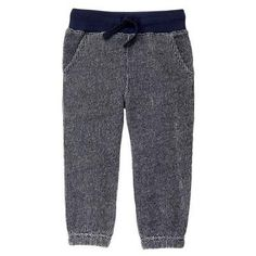Toddler Boys Gym Navy Knit Joggers by Gymboree