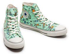 e71f7e476e6b Printed Cartoon Sneakers. Cartoon ShoesConverse StyleConverse Chuck Taylor All  StarChuck ...