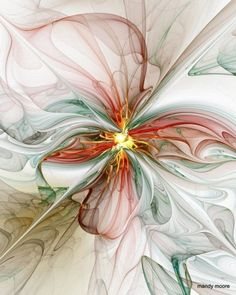 fractal-art-24 ~ hand-drawn by Mandy Moore
