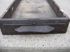 oak drawer large wooden drawer dove tailed 2 by rivertownvintage, $34.95