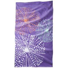 Sea Urchin Beach Towel - Electra Purple $10.99