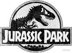 Jurassic Park Logo Grunge