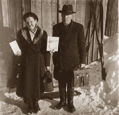 Preaching God's Word with The Watchtower magazine in Finland in 1950s