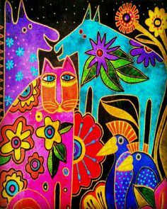 I L♡VE COLOR ♠Laurel Burch♠                                                       …