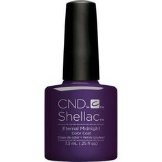 CND Creative Nail Design Shellac - Eternal Midnight