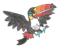 Toucannon by FrozenFeather on @DeviantArt