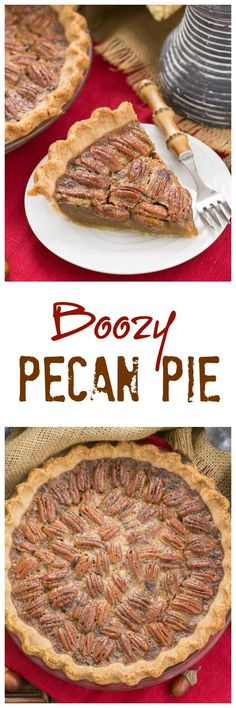 Classic Pecan Pie | A rich, ultra-sweet indulgence. Perfect for the holidays!