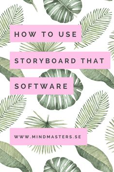 How To Use StoryboardThat Digital Storytelling Tool - Make your own storyboards for your audiovisual projects or blog using this Freemium software. Read our guide!