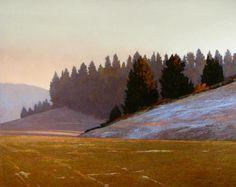 Morning Near Potlatch  Marc Bohne   oil on canvas
