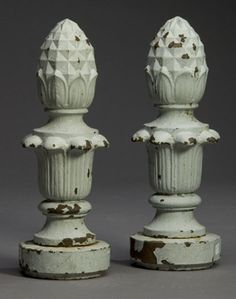 Plaster, Urn, Southeast Asia, Vintage Floral, Old World, Exterior Design, French Country, Color Schemes, Pineapple