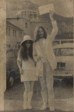 Yoko Ono & John Lennon