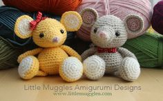 Download Buttons The Mouse Amigurumi Pattern (FREE)
