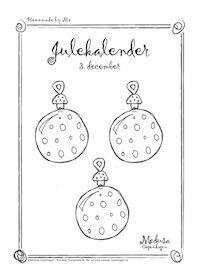 Medusa: Gratis juletegninger print