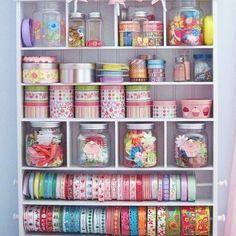 Cada coisa em seu lugar  #organização #organizesemfrescuras #craft