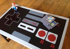 Custom NES Nintendo Controller Coffee Table